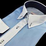 30005-DRP-1  Elegantná dámska košeľa – SLIM FIT STRIH.