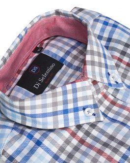 Károvaná dámska košeľa v SLIM STRIHU – PortugalSLIM