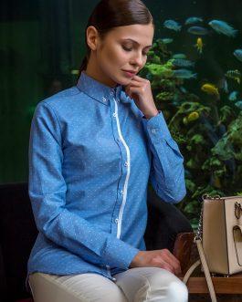 Módna dámska košeľa v SLIM STRIHU – FranceSLIM