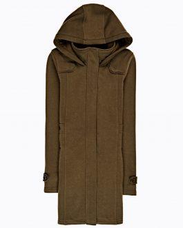 GATE Dlhá bunda s kapucňou
