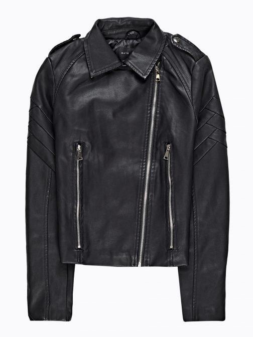 GATE Motorkárska bunda z imitácie kože
