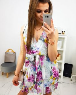 Dámske svetlo-sivé šaty VANESSA (ey0875)