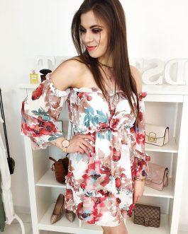 Dámske kvetinové šaty AMORE (ey0887)