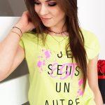 Dámske tričko s krátkym rukávom (ry0941)