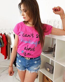 Krásne ružové dámske tričko (ry0964)