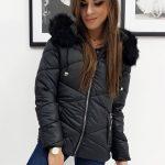 Dámska zimná bunda CARLA čiernej farbe (ty1002)