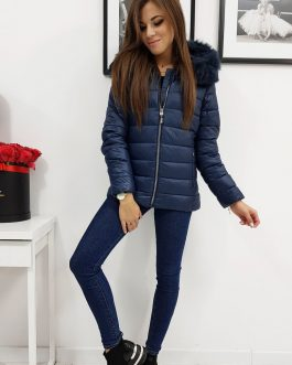 Granátová pohodlná zimná bunda ESTELLA (ty1010)