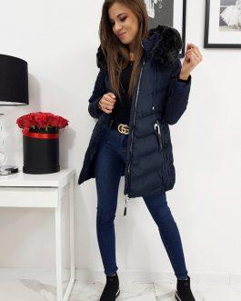 Granátová dámska zimná bunda MAITE s kapucňou (ty0282)