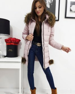 Zimná ružová dámska bunda STELLA (ty0275)