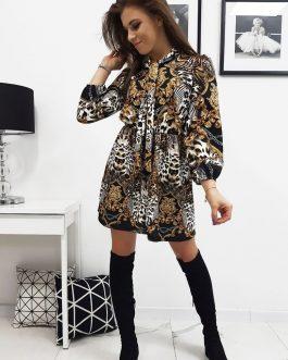 Čierne dámske šaty ODESSA (ey1009)