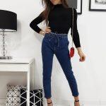 Dámske módne džínsy LUI (uy0214)