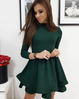 Zelené dámske šaty BONITA (ey1069)