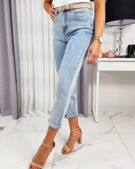 Moderné dámske džínsy BELINDA UY0221