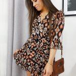 Trendové dámske šaty BUENO EY1090