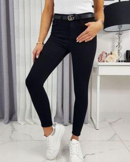 Čierne džínsové nohavice JUET UY0289