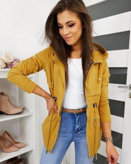 Štýlová žltá bunda KENAZO pre dámy TY1163