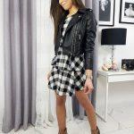Dámska čierna koženka BEAUTY LOVE TY1191