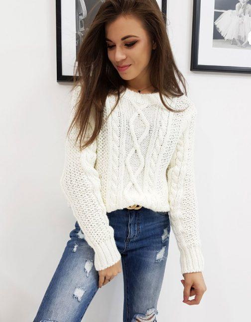 Dámsky béžový sveter SELENA (my0630)