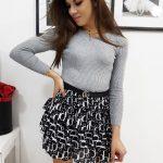 Dámsky sveter DENISA v svetlo-sivom prevedení (my0720)
