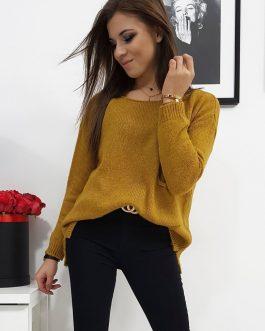 Moderný dámsky sveter AMBER (my0697)